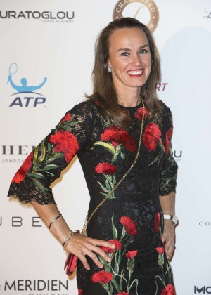 Martina Hingis - Champ'Seed Party 2015 in Monaco
