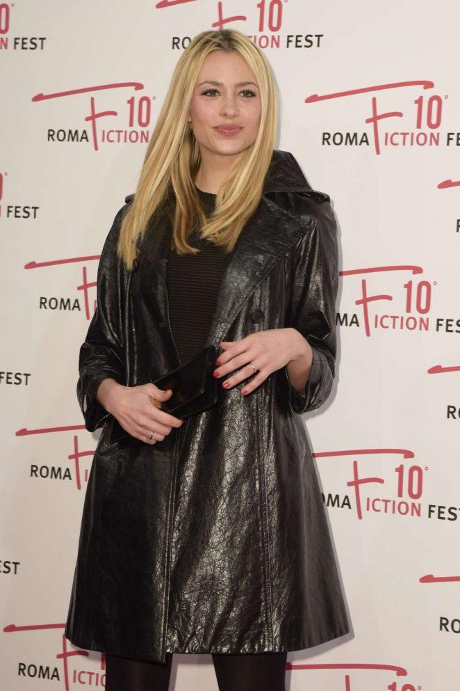Martina Stella – 'Madoff' Premiere in Rome