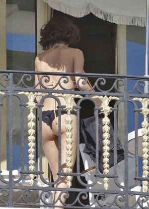 Martina Stoessel: Wearing Bikini-17