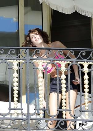 Martina Stoessel: Wearing Bikini-23