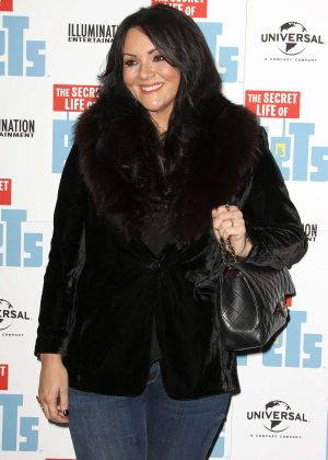 Martine McCutcheon - The Secret Life of Pets UK DVD Release Party in London