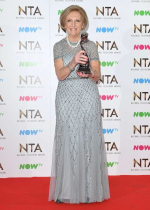 Mary Berry - 2017 National Television Awards in London
