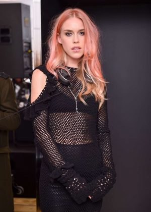 Mary Charteris - Giuseppe Zanotti Design Flagship Store Opening in London
