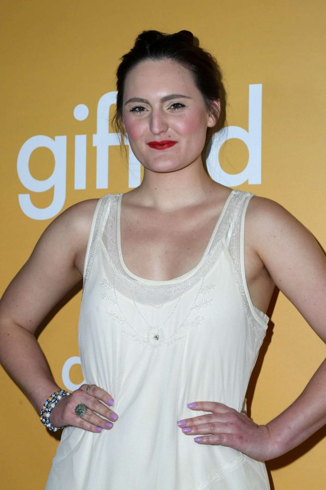 Mary Chieffo - 'Gifted' Premiere in Los Anegeles
