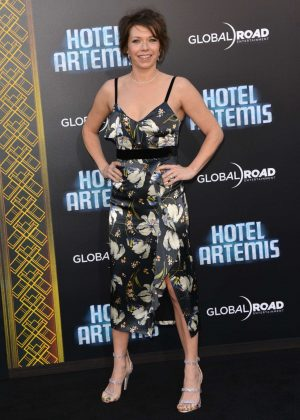 Mary Elizabeth Ellis - 'Hotel Artemis' Premiere in Los Angeles