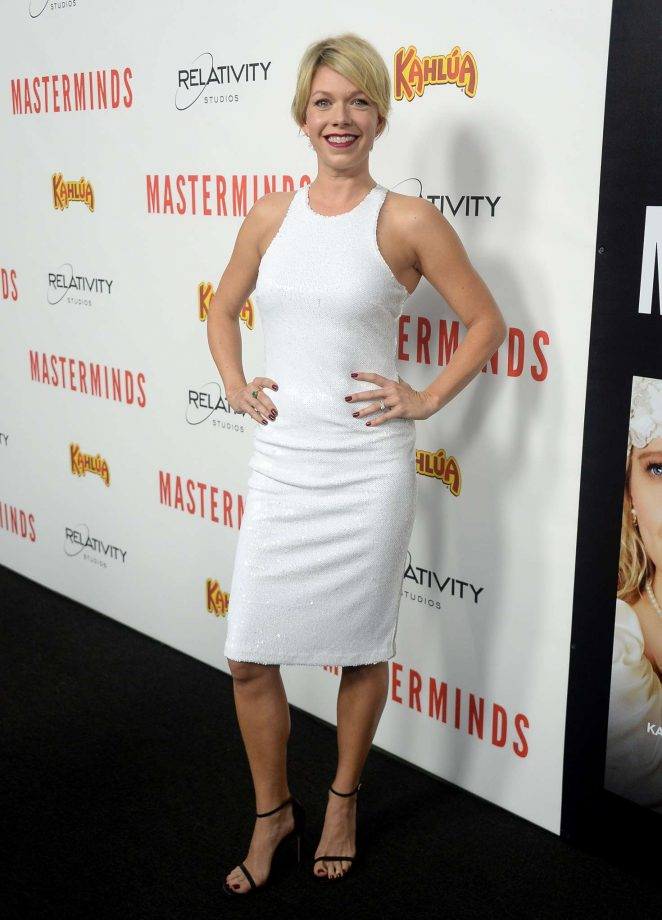 Mary Elizabeth Ellis - 'Masterminds' Premiere in Los Angeles