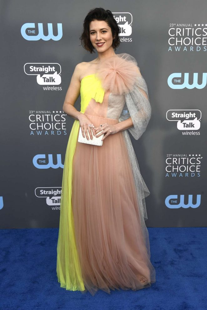 Mary Elizabeth Winstead - Critics' Choice Awards 2018 in Santa Monica