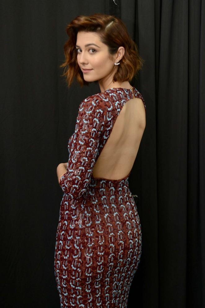 Mary Elizabeth Winstead - Jenny Packham Fashion Show Spring 2016 NYFW in NYC
