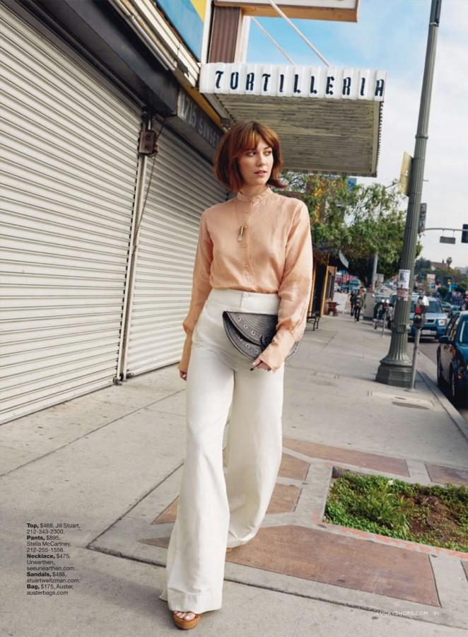 Mary Elizabeth Winstead: Lucky Magazine 2015 -01