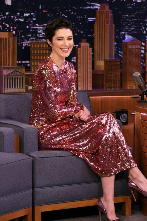 Mary Elizabeth Winstead - On 'Tonight Show Starring Jimmy Fallon' in NY