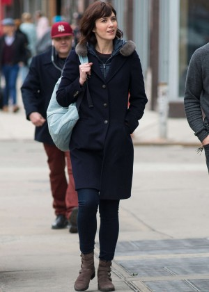 Mary Elizabeth Winstead - Out in Downtown New York City