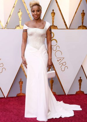 Mary J. Blige - 2018 Academy Awards in Los Angeles