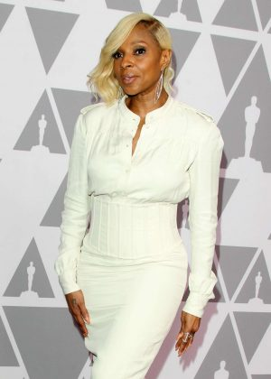 Mary J. Blige - 2018 Oscar Nominees Luncheon in Beverly Hills