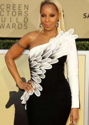 Mary J. Blige - 2018 Screen Actors Guild Awards in Los Angeles