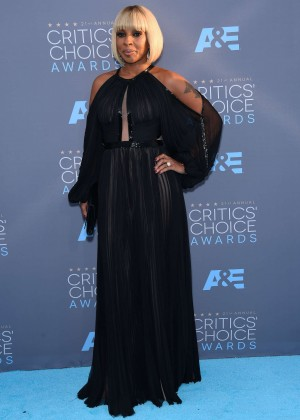 Mary J. Blige - 2016 Critics' Choice Awards in Santa Monica