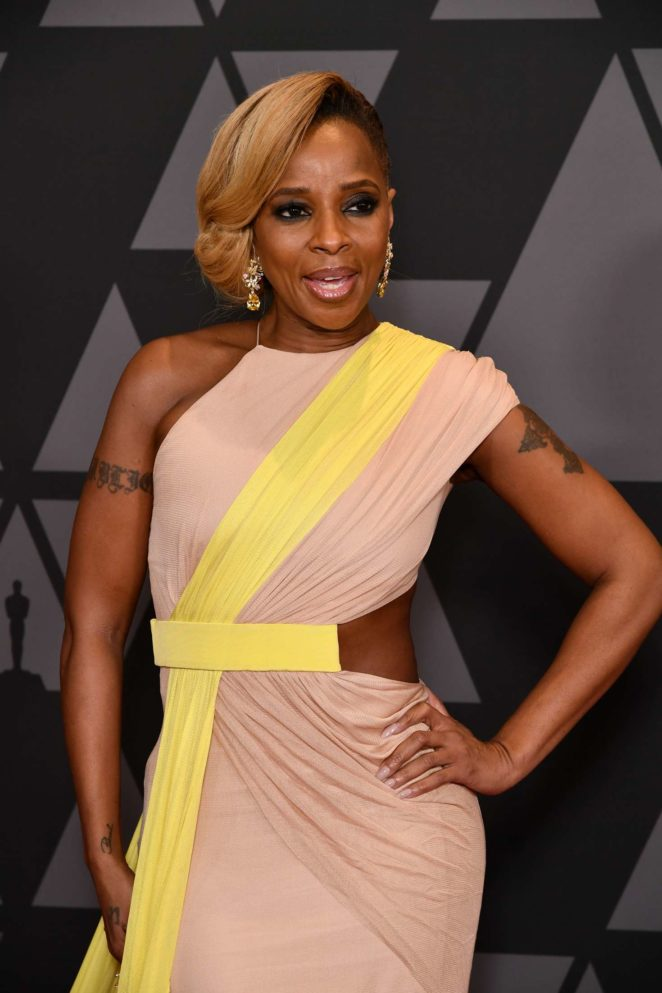 Mary J Blige - 9th Annual Governors Awards in Hollywood