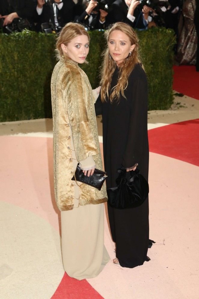 Mary-Kate and Ashley Olsen - 2016 Met Gala in NYC