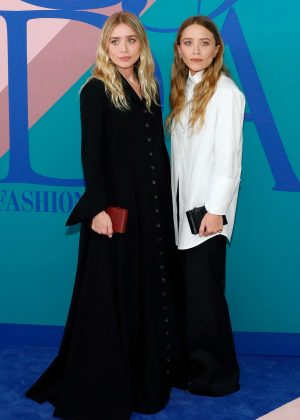 Mary-Kate and Ashley Olsen - 2017 CFDA Fashion Awards in New York