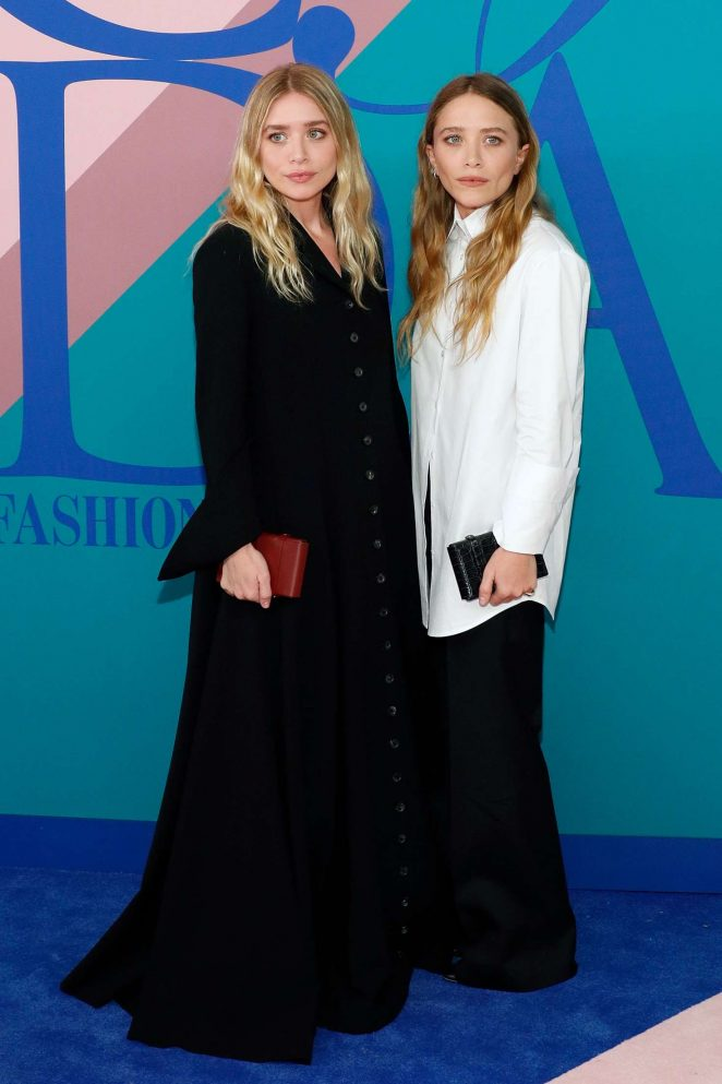 Mary-Kate and Ashley Olsen – 2017 CFDA Fashion Awards in New York
