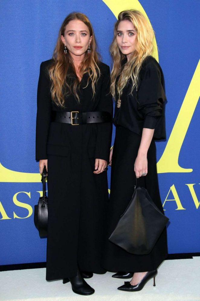 Mary-Kate and Ashley Olsen – 2018 CFDA Fashion Awards in Brooklyn