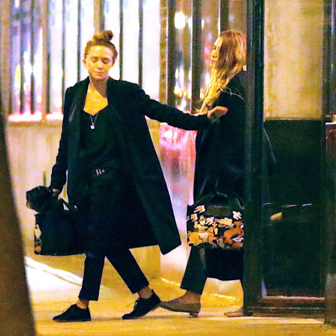 West Ashley Apartments: Mary-Kate And Ashley Olsen: Leave Their West Village