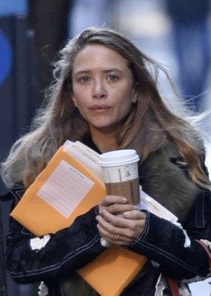 Mary-Kate Olsen out and about in NYC