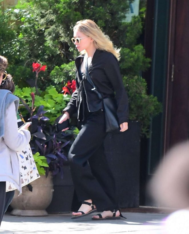 Mary Kate Olsen Out in New York