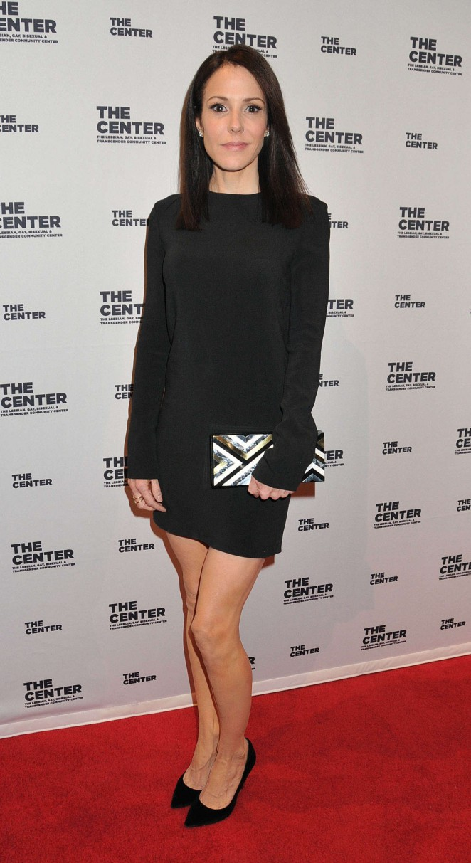 Mary Louise Parker – Being Honored at the LGBT Center of New York in NYC