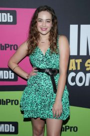 Mary Mouser - #IMDboat at Comic Con San Diego 2019