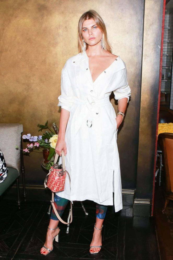 Maryna Linchuk – Foundrae Store Opening in New York