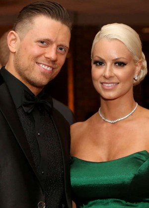 Maryse Ouellet Mizanin - WWE Hall of Fame Ceromony 2016 in Dallas