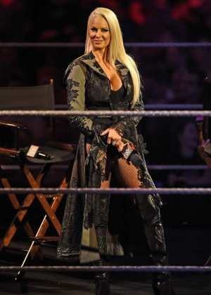 Maryse Ouellet Mizanin - WWE Smackdown at the o2 Arena in London