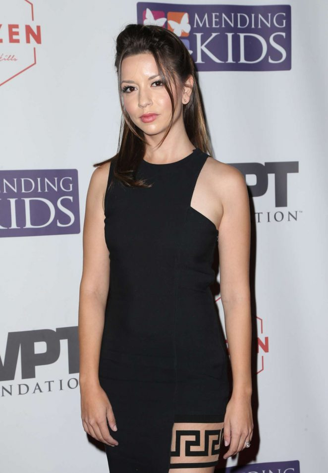 Masiela Lusha - World Poker Tournament Presents 'Four Kings And An Ace' in LA