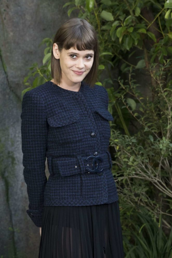 Mathilde Warnier – Chanel Fashion Show, Paris Fashion Week in Paris