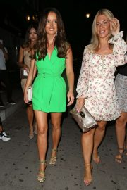 Maura Higgins at Tape Nightclub in Mayfair