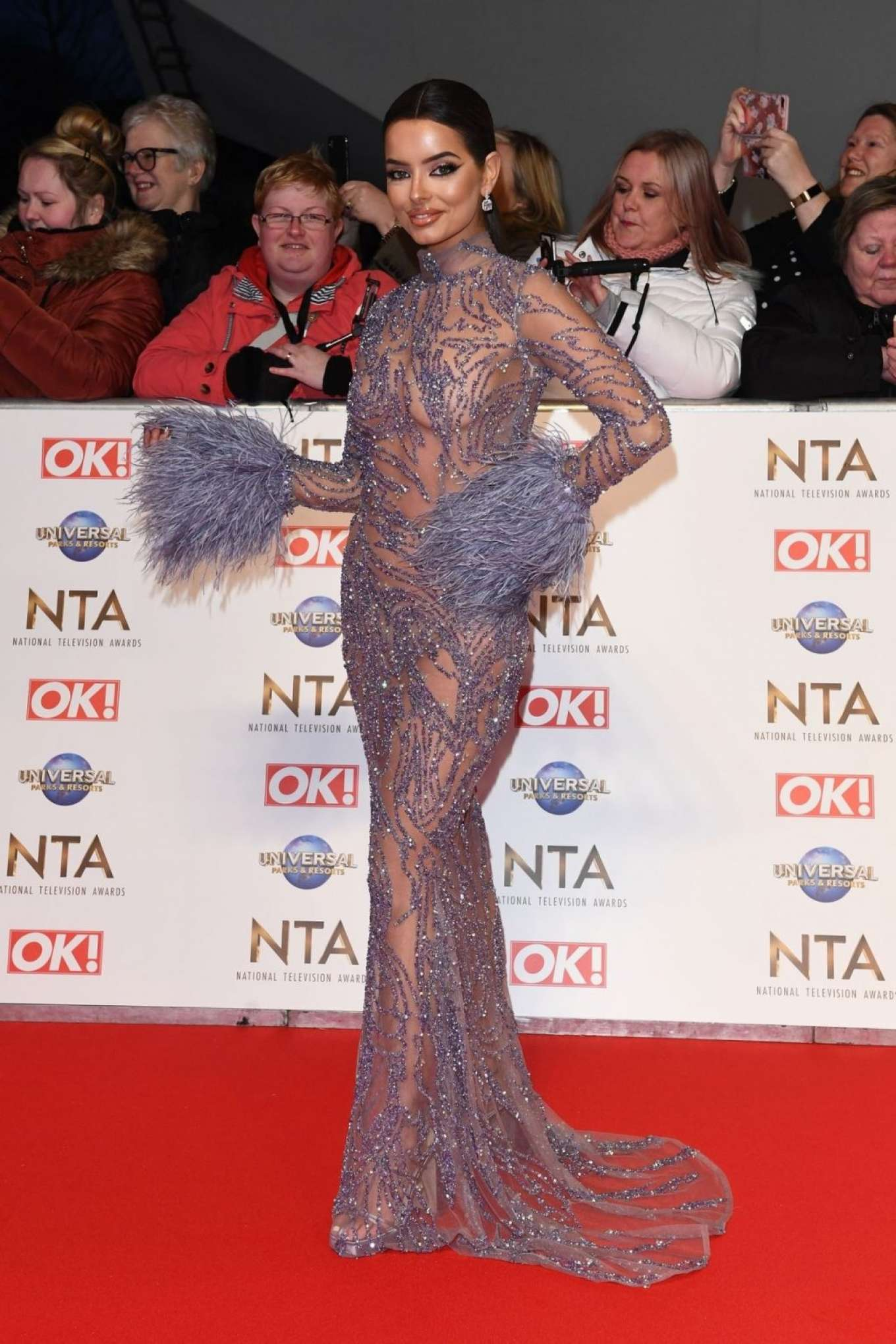 Maura Higgins - National Television Awards 2020 in London
