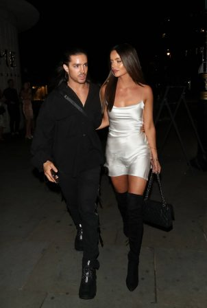 Maura Higgins - Night out at STK in London