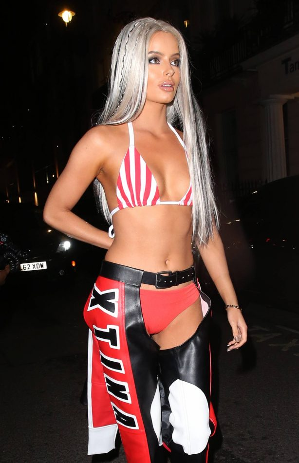 Maura Higgins - Pictured at MKY HSE Halloween Party In Fancy Dress in London