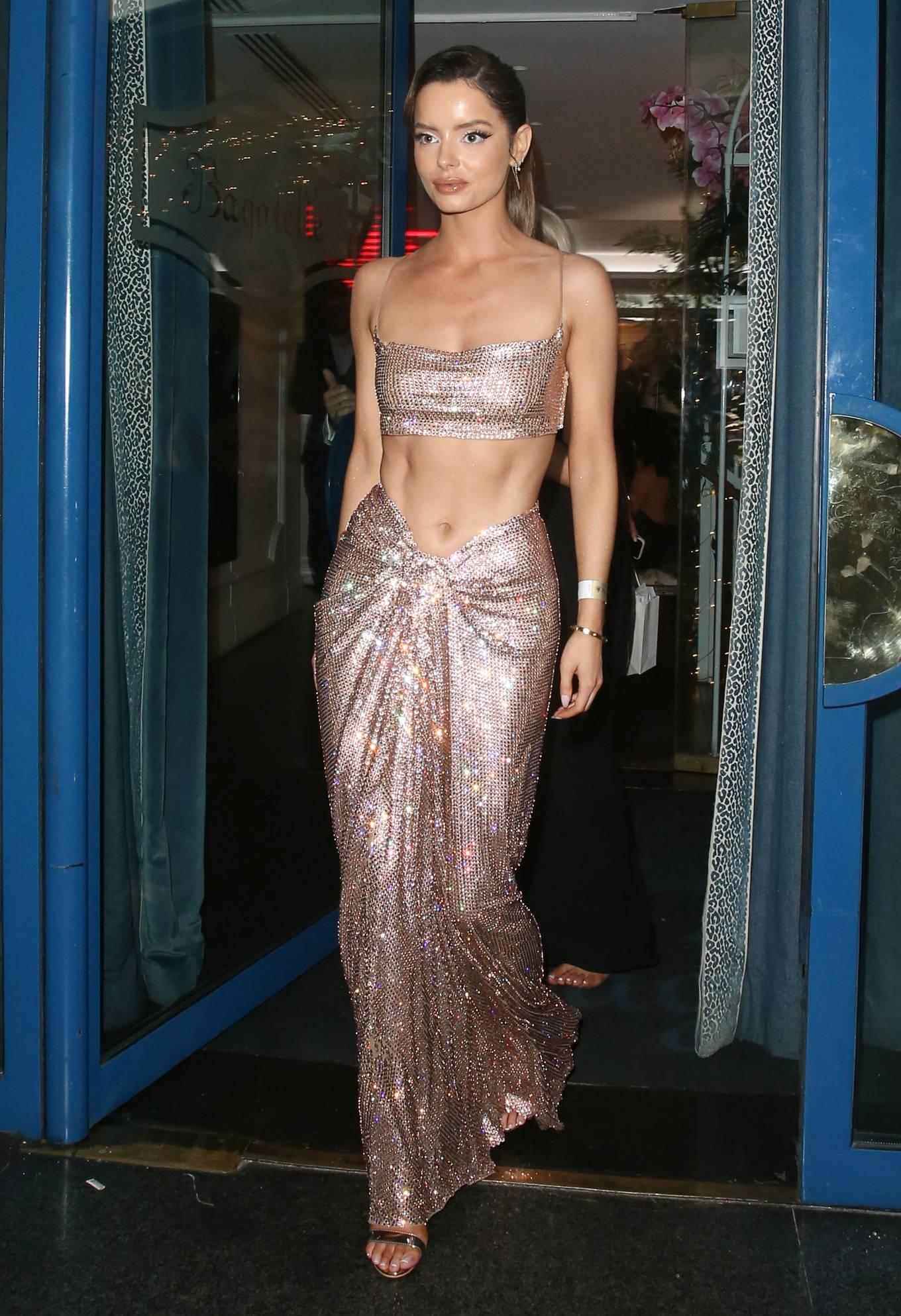 Maura Higgins - Seen at 26th National Television Awards in London