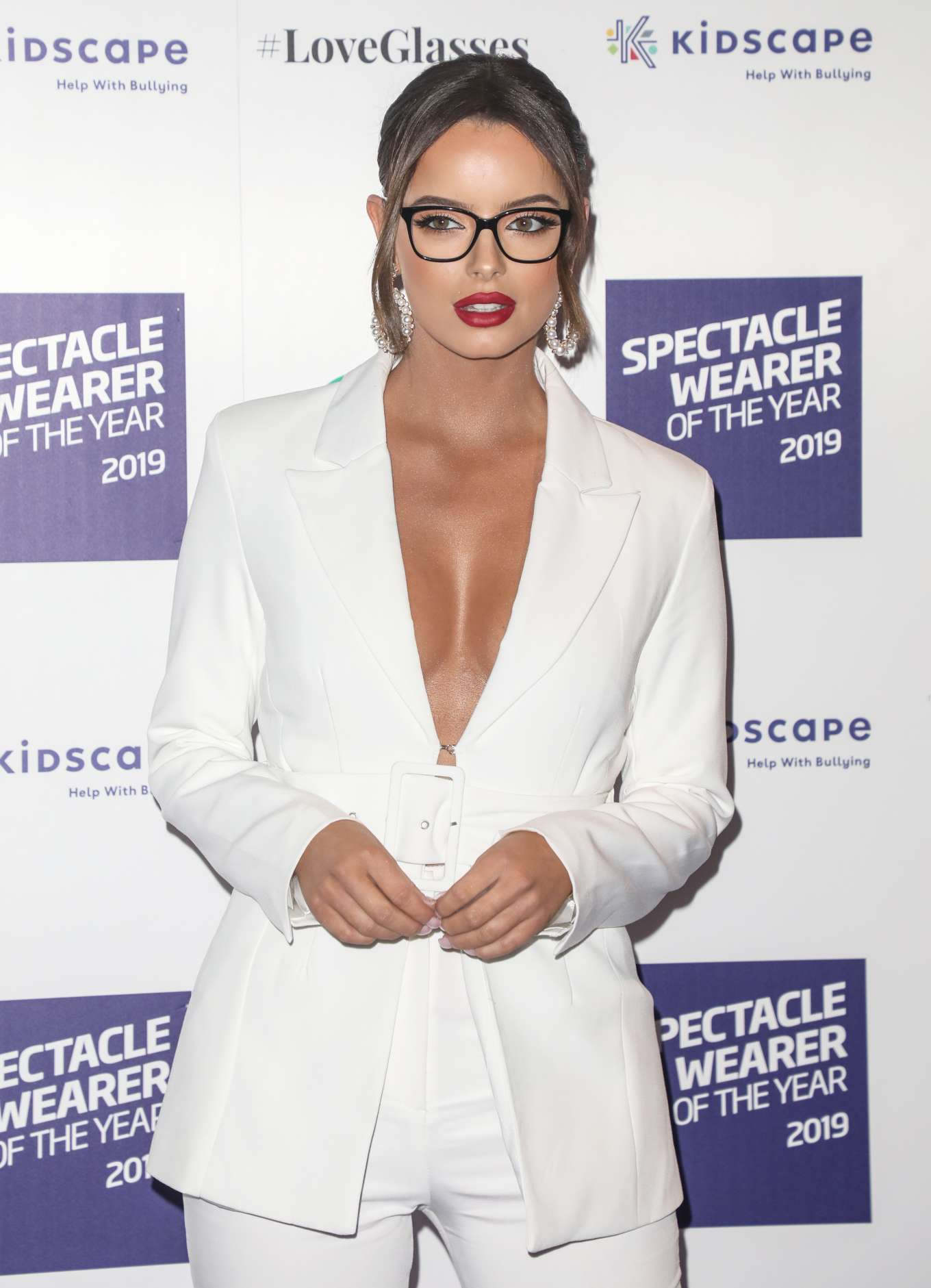 Maura Higgins - Specsavers Spectacle Wearer of the Year Awards 2019 in London