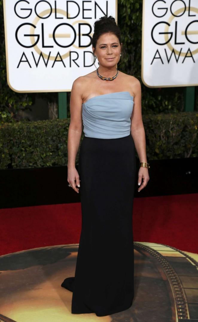 Maura Tierney 2016 : Maura Tierney: 2016 Golden Globe Awards -01