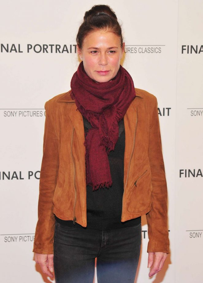 Maura Tierney – 'Final Portrait' Screening in New York
