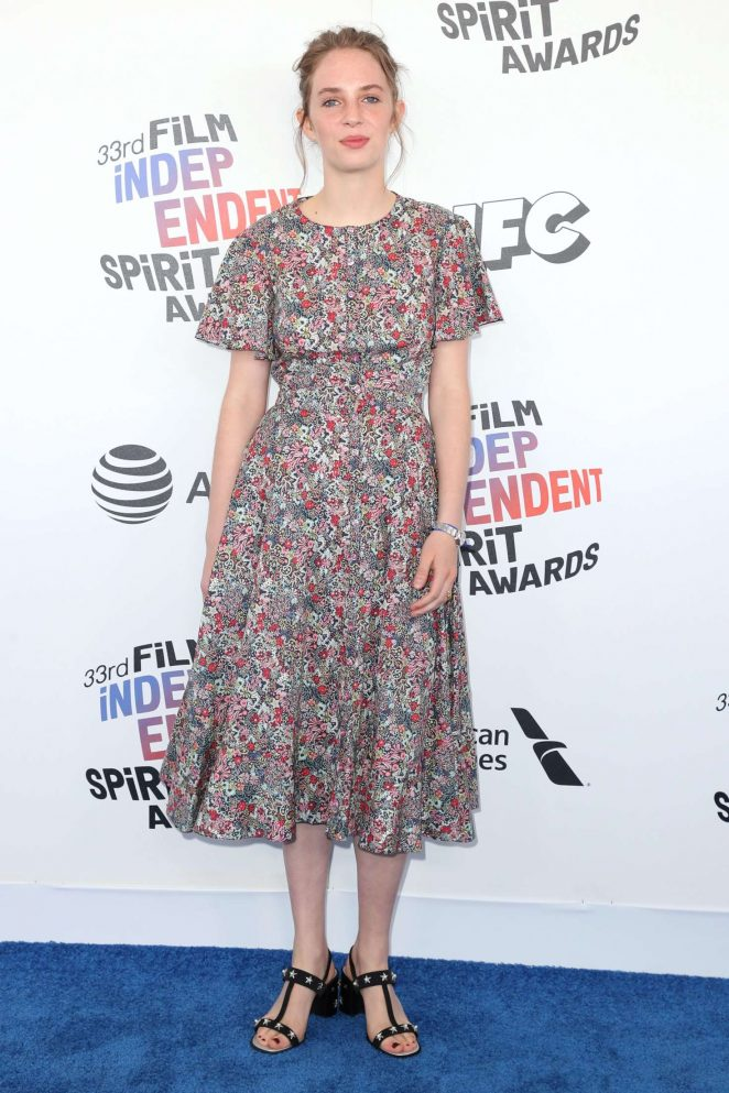 Maya Hawke - 2018 Film Independent Spirit Awards in Santa Monica