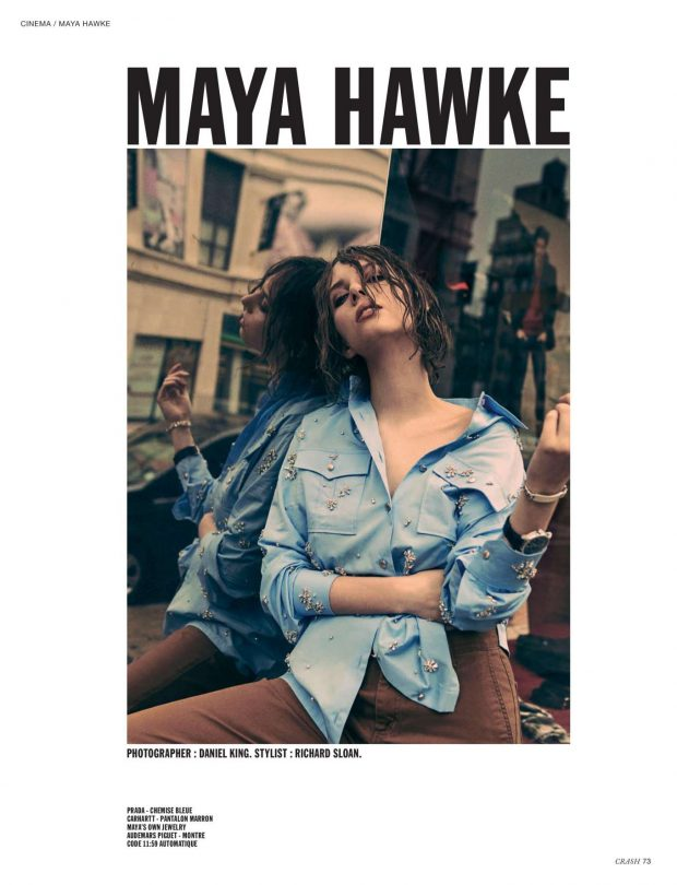 Maya Hawke - Crash Magazine (May 2019)