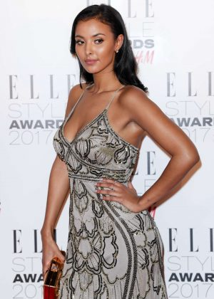 Maya Jama - 2017 Elle Style Awards in London