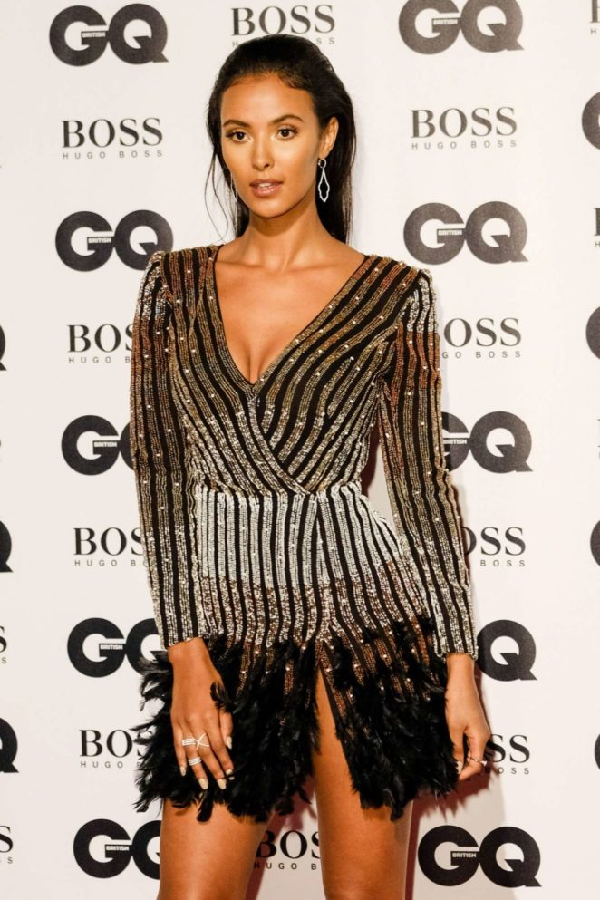 Maya Jama - 2017 GQ Men of the Year awards in London