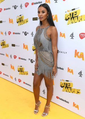 Maya Jama - 2018 Daily Rated Awards in London