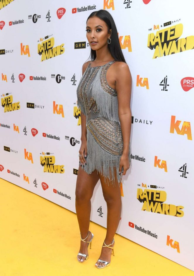 Maya Jama – 2018 Daily Rated Awards in London