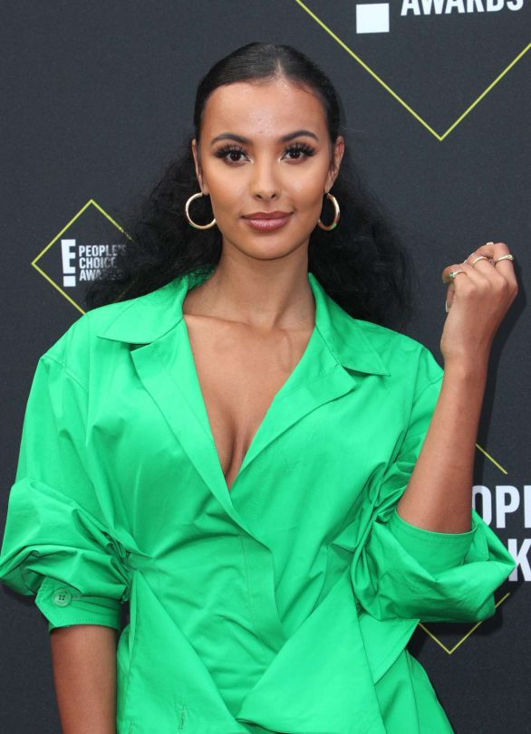 Maya Jama – 2019 E! Peoples Choice Awards in Santa Monica