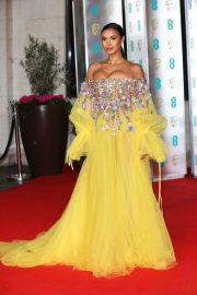 Maya Jama - 2020 British Academy Film Awards in London
